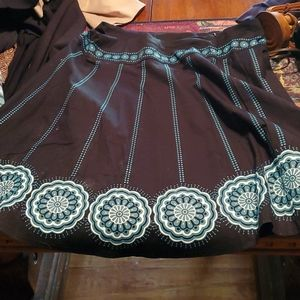 Heart soul skirt womens size 9